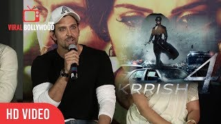 hrithik roshan talk about krrish 4 preparation which actress finalize for krrish 4 ??