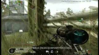 Call of Duty 4 - Barrett .50 Cal Montage