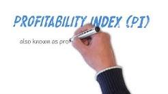 profitability index/profitability index formula