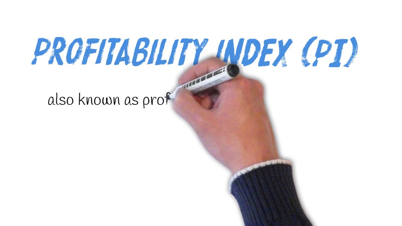What is the index of profitability How to calculate it 80