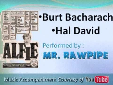 ALFIE -Burt Bacharach-Hal David (cover-lyrics)