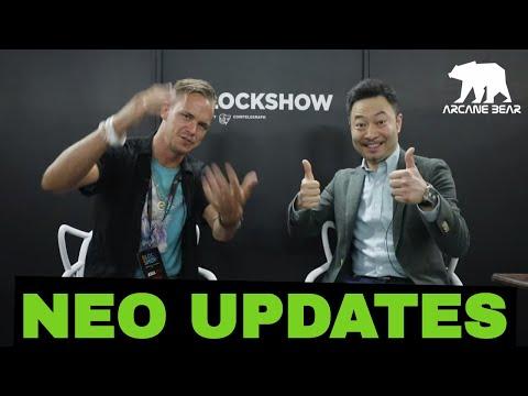 NEO & Bitcoin Story Da Hongfei Updates . @Blockshow 2019