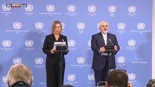 رفع العقوبات الاقتصادية عن إيران