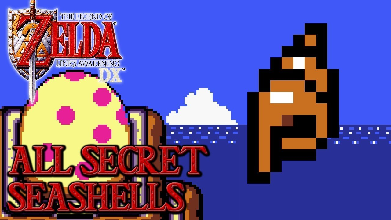 The Legend Of Zelda Link S Awakening Dx All Secret Seashells