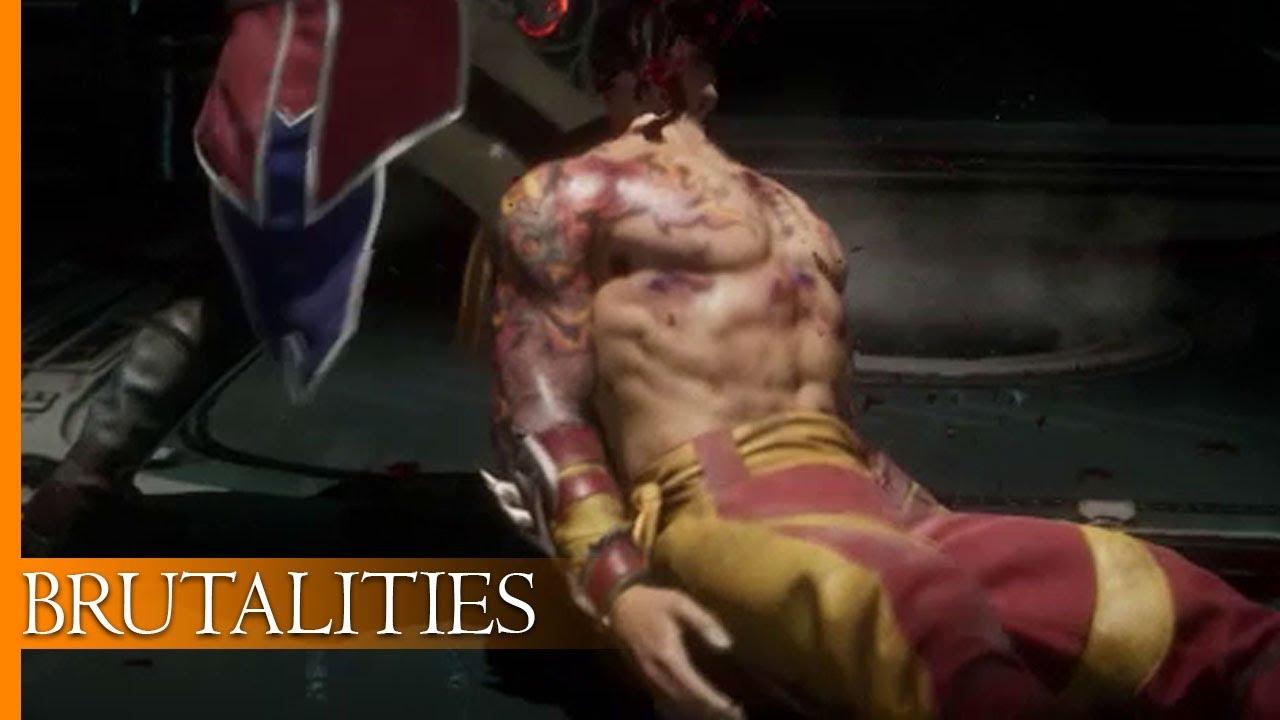 Liu Kang Tattoo: Brutalities On Liu Kang (Shirtless Tattoo)