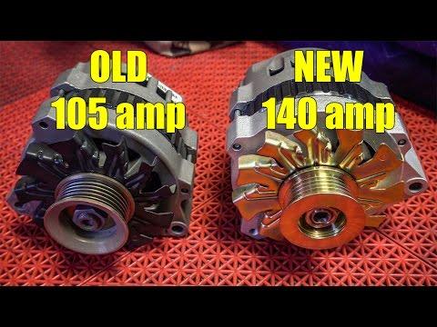 Major 140 AMP Alternator UPGRADE!