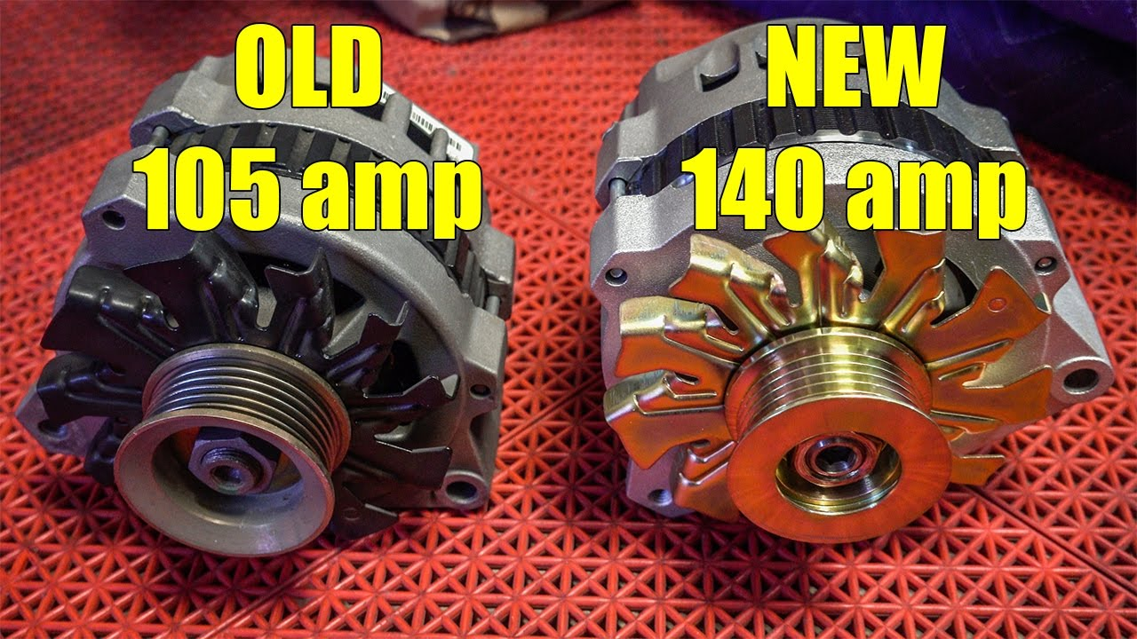 Major 140 AMP Alternator UPGRADE   YouTube