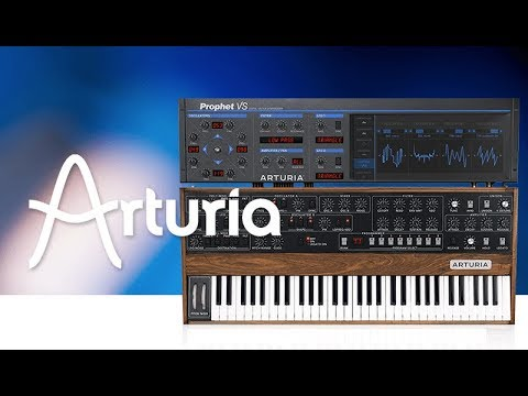 how to use arturia prophet v with king unique introduction and background youtube. Black Bedroom Furniture Sets. Home Design Ideas
