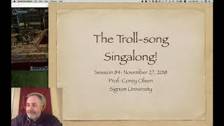 Exploring the Lord of the Rings - Episode 84: The Troll-song Singalong