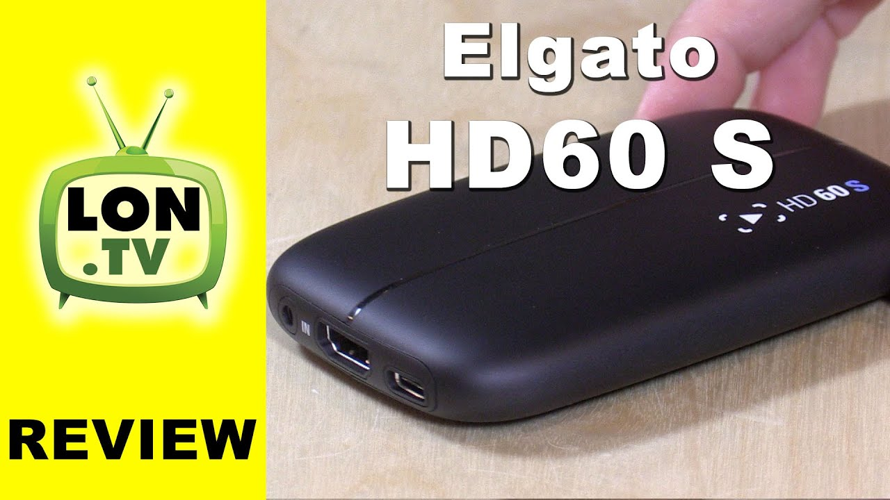 Elgato Game Capture HD60 S Review - 1080p 60 fps Low Latency Game Capture  Device