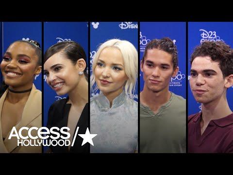 'Descendants 2' Stars Name Their Fave Disney Villains & Heroes!   Access Hollywood
