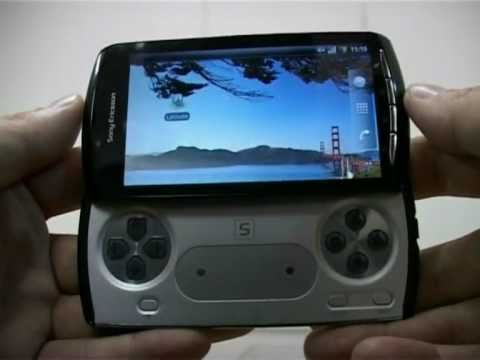 Sony Ericsson ZEUS - Z1-PlayStation Phone original video (spy)