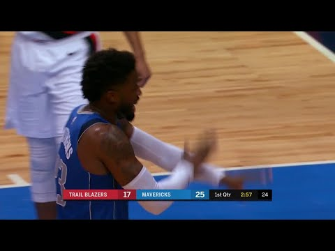 1st Quarter, One Box Video: Dallas Mavericks vs. Portland Trail Blazers