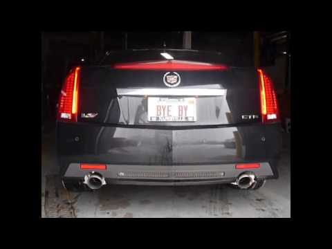 2009 2014 cadillac cts v performance exhaust system kit corsa 14941