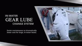 Yamaha XTO Offshore - In Water Gear Lube Change System