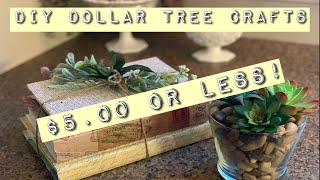 Dollar Tree DIY/10 Minute Crafts/$5.00 or Less