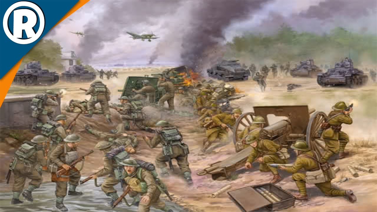 battle of france The battle of france, also known as the fall of france, was the german invasion of france and the low countries during the second world war in six weeks from 10 may 1940, german forces defeated allied forces by mobile operations and conquered france.