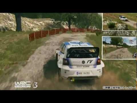 『WRC 3 FIA ワールドラリーチャンピオンシップ』トレーラー(1)