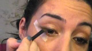 видео Макияж для круглых глаз