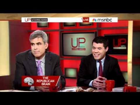 """Chris Mooney Discusses """"The Republican Brain"""" with Jonathan Haidt and Chris Hayes"""