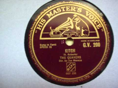 HMV-african Calypso 78 RPM- GV 200- The Quavers- kitch- fanti