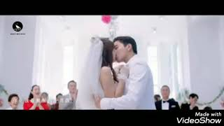 Fall in love at first kiss wedding last scene
