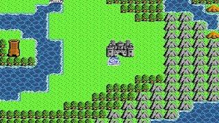 ドラクエ3 アリアハンのみでレベル98【ドラゴンクエストFCファミコン】勇者一人旅レベル上げ【緑のサムネ】