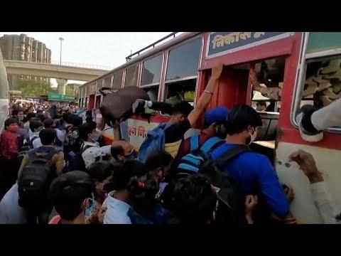 شاهد: العمال يفرون من نيودلهي بعد فرض السلطات إجراءات الإغلاق لمدة أسبوع…  - نشر قبل 21 ساعة