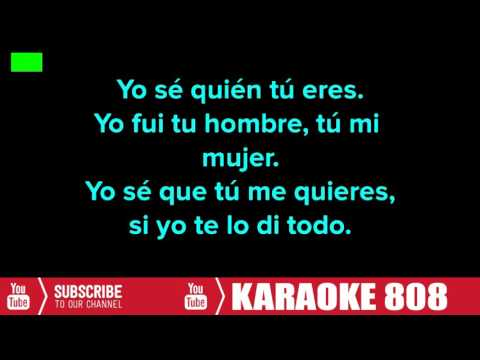 Dime Que Te Pasó Lyric ~ Wisin Y Yandel ~ Karaoke Version ~ Karaoke 808
