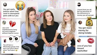 Addressing The Rumours About Us... (with Sophdoesnails & Jazzybum) | Sophie Louise