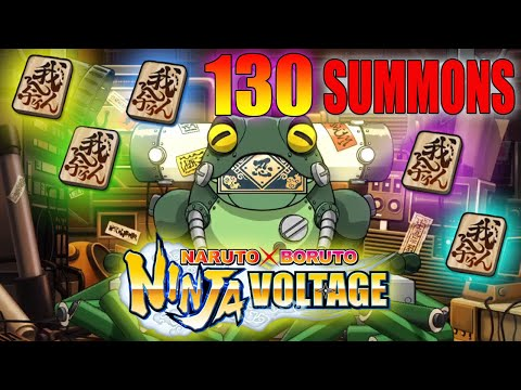 130 🔥 Ticket Summons ► Naruto x Boruto Ninja Voltage