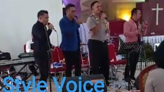 Anak Na Burju Style Voice dan Kapolda Sumatera Utara.
