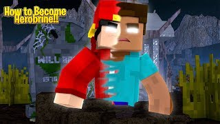 Minecraft Halloween - HOW TO BECOME HEROBRINE!!!