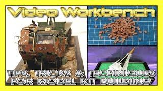 Tips, Tricks & Techniques for Model Kit Building   Video Workbench