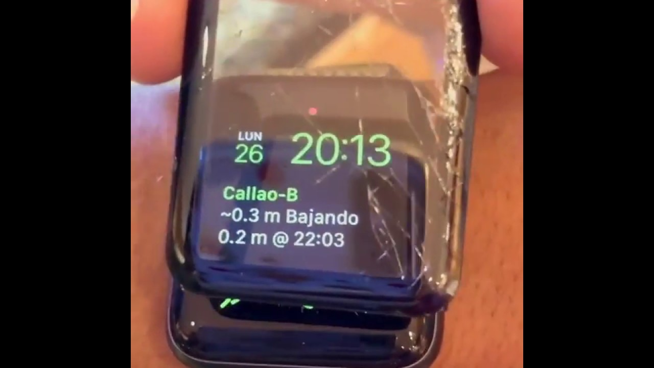 El Mejor Vidrio Templado Apple Watch 3d Youtube