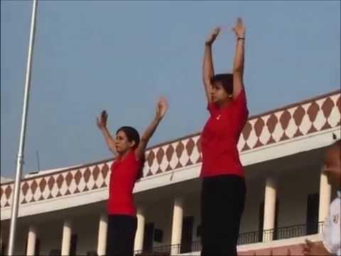Vasundhara Raje - Vishwa Yoga Diwas