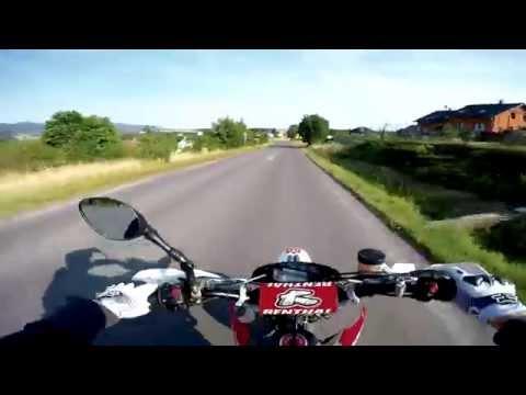Husqvarna 510 vs. 450 Dangerous Ride | GoPro