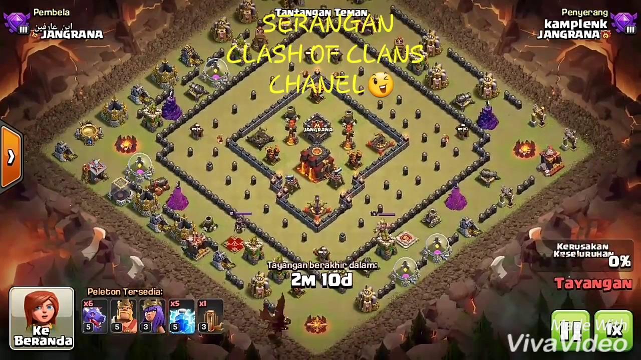 Base Coc Th 10 Terkuat Untuk War 9