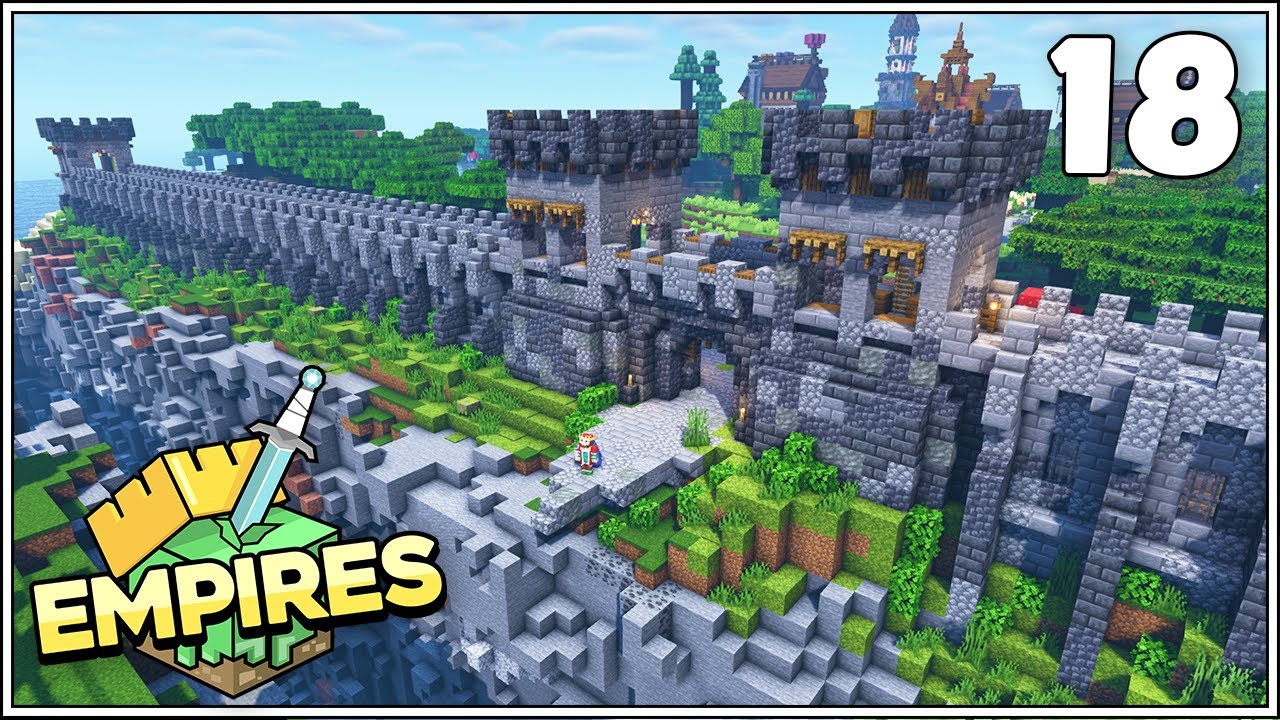 Empires SMP - THE GREAT WALL OF MYTHLAND!!! - Ep.18 [Minecraft 1.17 Let's Play]