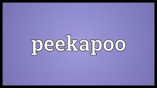 Peekapoo Meaning