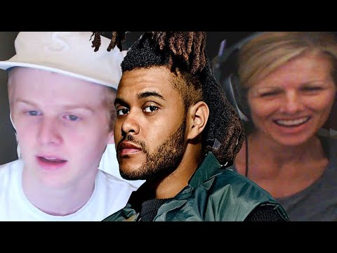 Mom reacts to The Weeknd @theweeknd