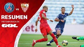 RESUMEN - PSG 2-2 SEVILLA FC