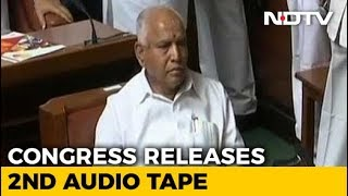 Congress Releases More Tapes, Says Yeddyurappa Tried To Poach Lawmaker