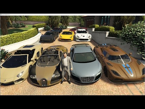 GTA 5 Real Supercar Mods