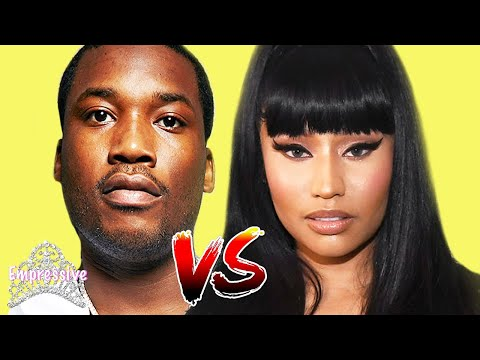 Nicki Minaj And Meek Mill Drag Each Other On Twitter And Embarrass Themselves!