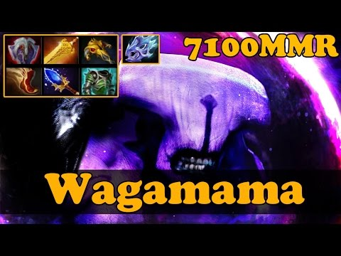 Dota 2 Wagamama 7100 MMR Plays Faceless Void Pub Match