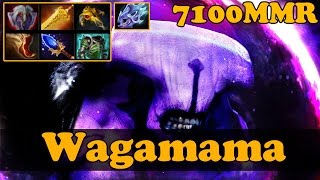 Dota 2 - Wagamama 7100 MMR Plays Faceless Void - Pub Match Gameplay