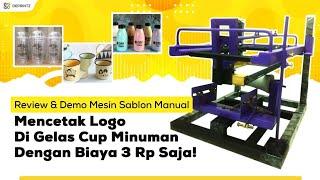 Review Alat Sablon Cup Serbaguna