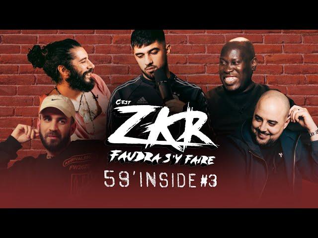 59' Inside Zkr #3 (avec DJ Bellek, Mehdi Maïzi et Waxx)