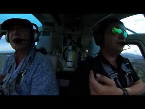 Helicopter Flight 360 view, Helijet Bell 206L IV MRPV to Los Sueños, Costa Rica
